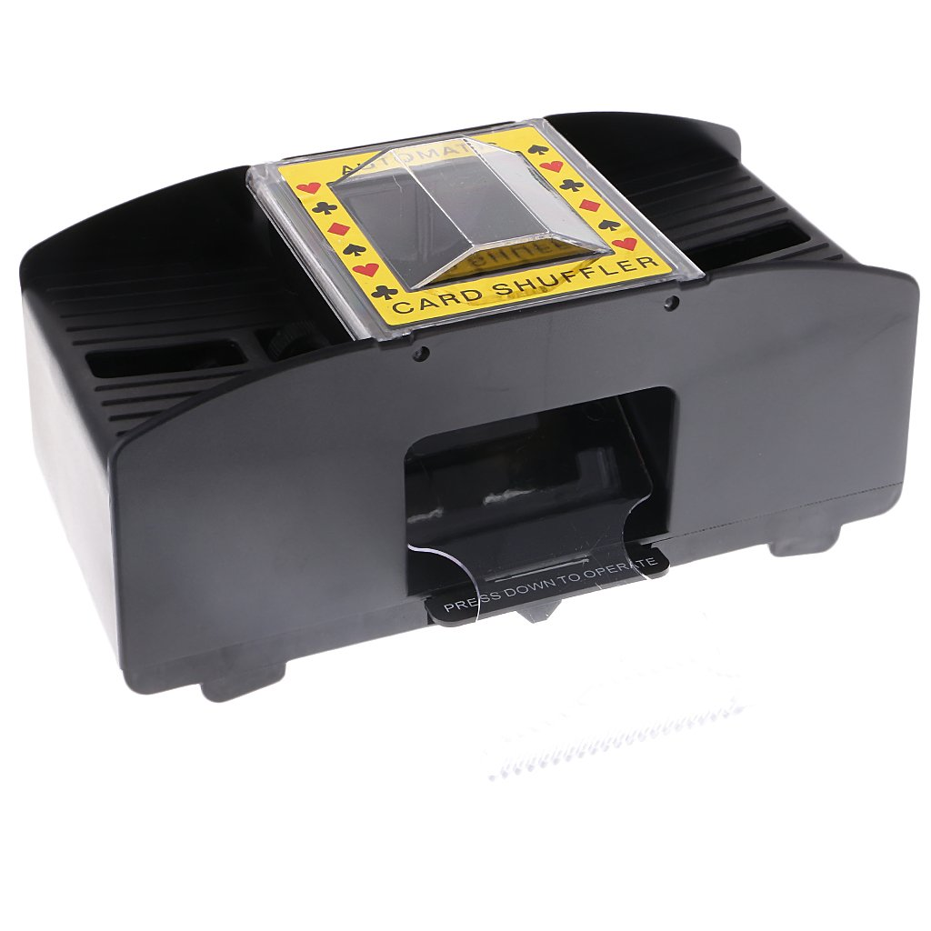 MonkeyJack Professional Automatic Playing Card Games Shuffler Shuffling 1-2 Decks Poker Sorter Mixer Machine for Party Entertainment by MonkeyJack (Image #7)