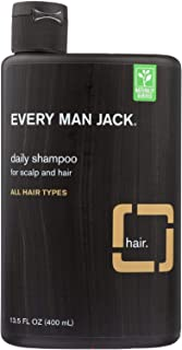 product image for Every Man Jack Daily Shampoo - Cleanse your hair and scalp of excess oil and buildup - All Hair Types - Sandalwood - 13.5 oz - Certified Organic - Ideal for daily use