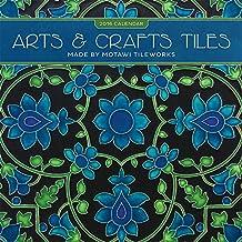 Arts & Crafts Tiles 2016 Mini Wall Calendar