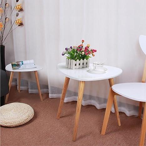 Amazon.com: DOLDOA Mesa de café, madera de búho, mesa ...