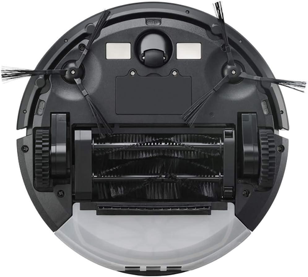 Prom-note Robot Aspirateur Mop Cleaner, Nettoyage Automatique De Balayage Et Mopping Robot Automatique De Nettoyage Chronométré, Une Forte Capacité De Adsorption Red