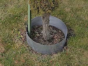 Cortadora de césped algodón Anillo circular de metal Diámetro. 37cm x 55cm–Juego de 3