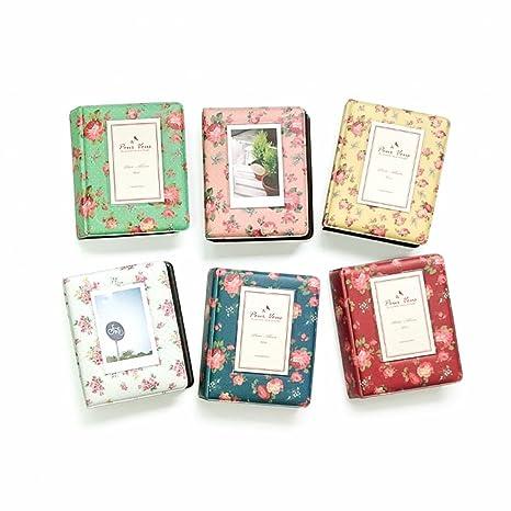 Zhi Jin Rose Mini 64 poches Album photo pour Fujifilm Instax Polaroid Taille  Fleur Photo Housse bc53cffa1668