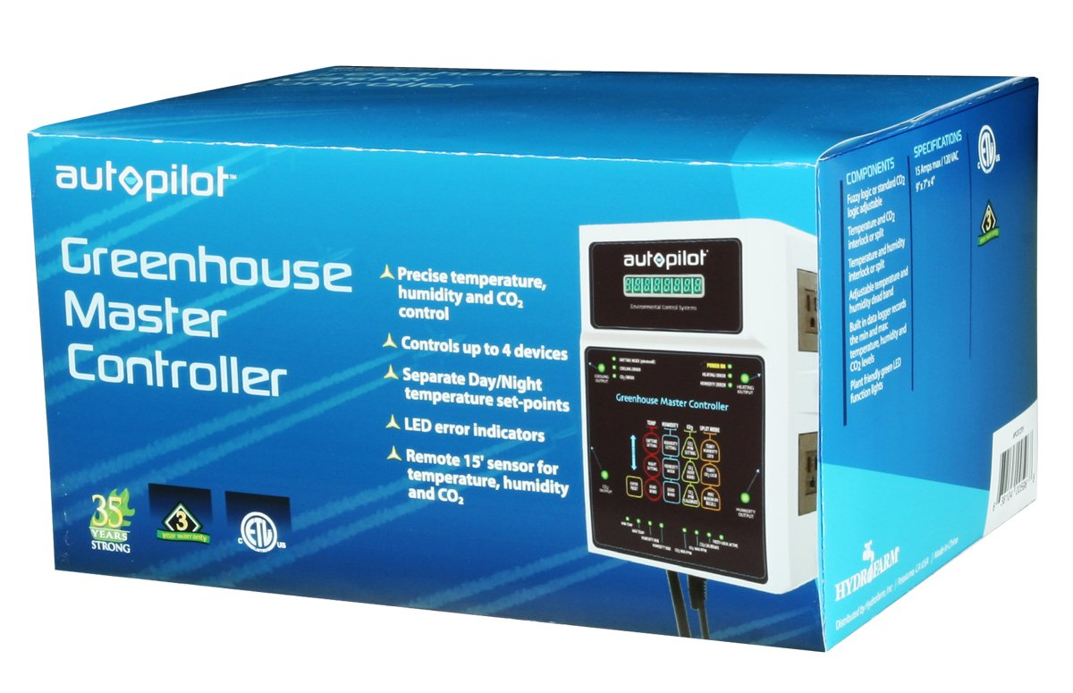 Autopilot Greenhouse Master Controller 2017 Model NEW FIRMWARE by AutoPilot
