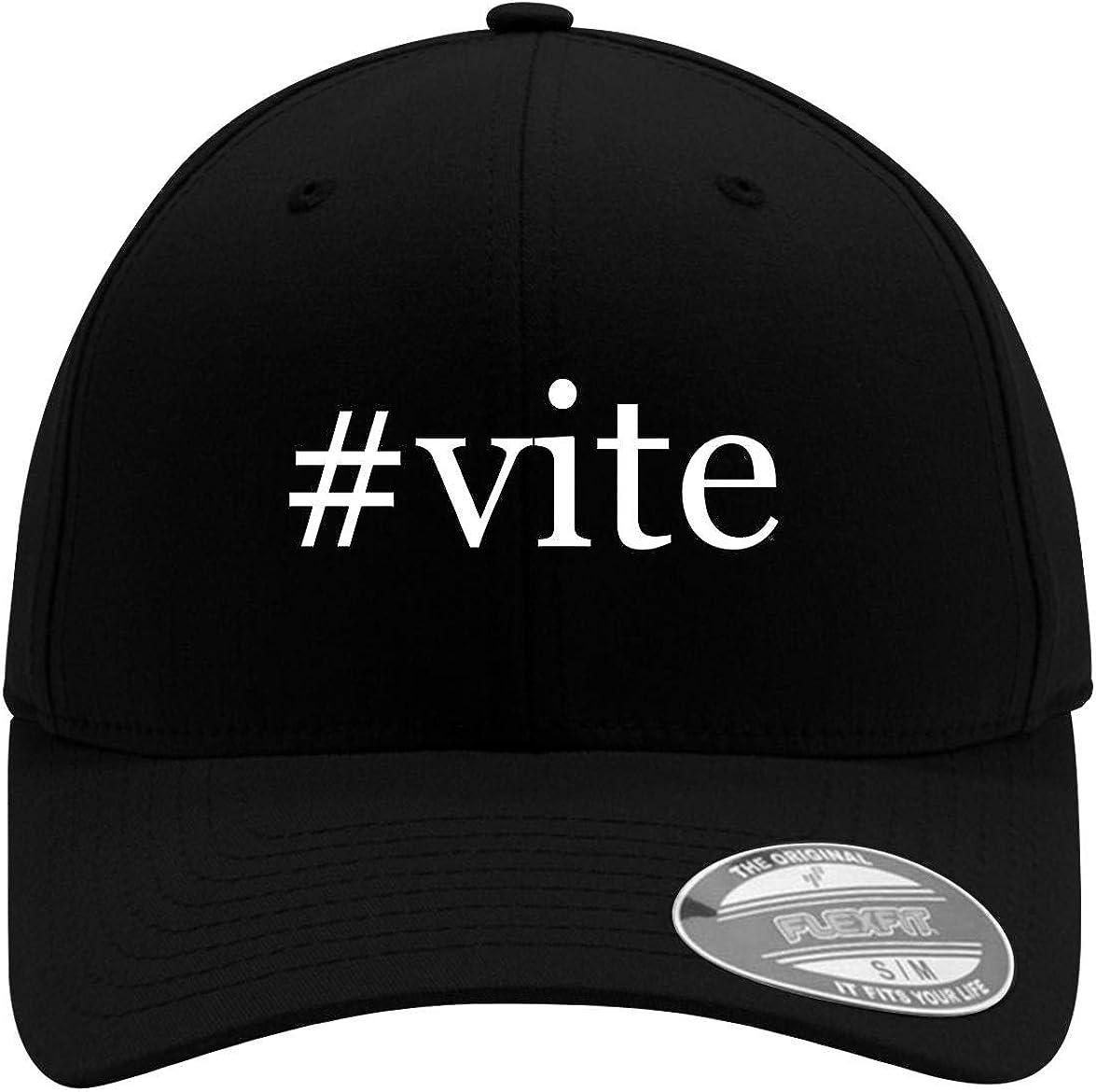 #vite - Adult Men's Hashtag Flexfit Baseball Hat Cap