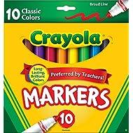 Crayola 10 Ct. Broad Line Original Markers - Classic