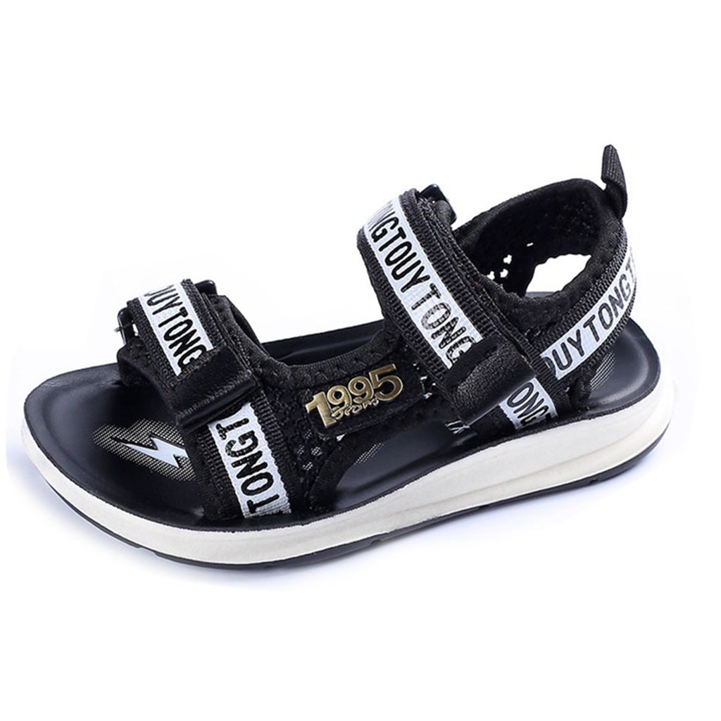 Boy and Girl's Adjustable Strap Sports Sandals Kids Summer Outdoor Open Toe Beach Athletic Shoes