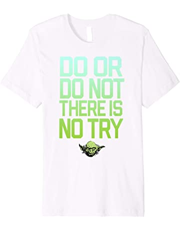 364c7669 Star Wars Do Or Do Not There Is No Try Yoda T-Shirt C1