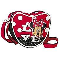 Minnie -  Borsetta Bambina Con Tracolla Forma Di Cuore Love, Rosso