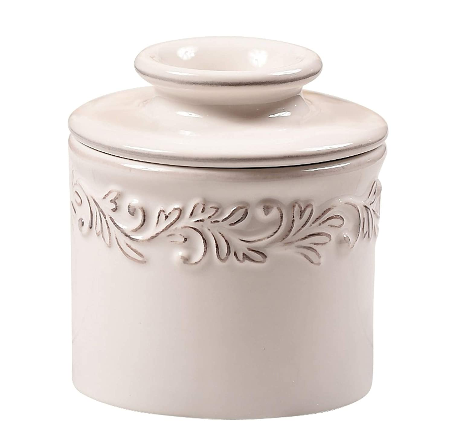 The Original Butter Bell Crock by L. Tremain, Antique Collection - White Linen