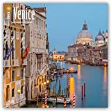 Venice 2018 12 x 12 Inch Monthly Square Wall Calendar, Scenic Travel Europe Italy