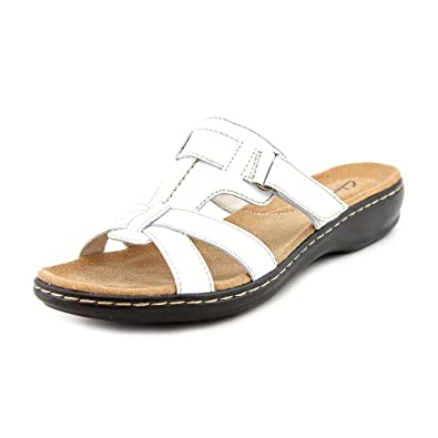 2db672db4095 Clarks Leisa Bora Narrow Slides Sandals Shoes Womens New Display   Amazon.co.uk  Shoes   Bags