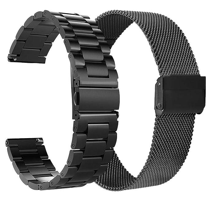VIGOSS Correa de metal compatible con Fitbit Versa Bandas ...