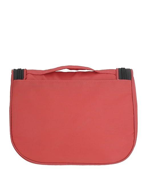Amazon.com: Portátil de viaje de artículos de tocador de tocador de maquillaje bolso colgante Wash Caso Rojo: Health & Personal Care