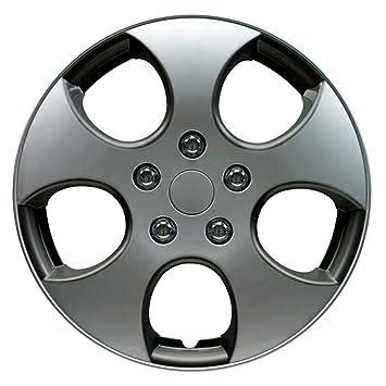 Autostyle Tapacubos - Golf Gti look (4 unidades): Amazon.es: Coche y moto