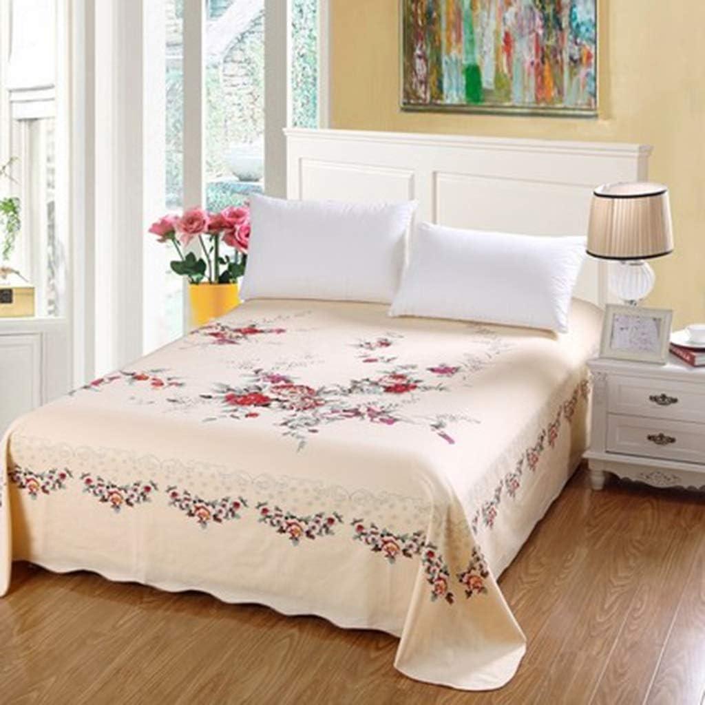 DQMSB sábanas de algodón Gruesas Dobles láminas Gruesas 1/1,5/1,8 / 2m (Color : A, Size : 225X245cm): Amazon.es: Hogar