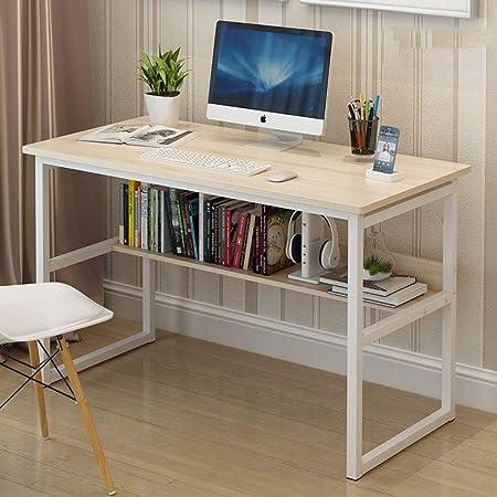 LUXDAMAI Simple Oficina Escritura Mesas para Ordenador,Escritorio ...