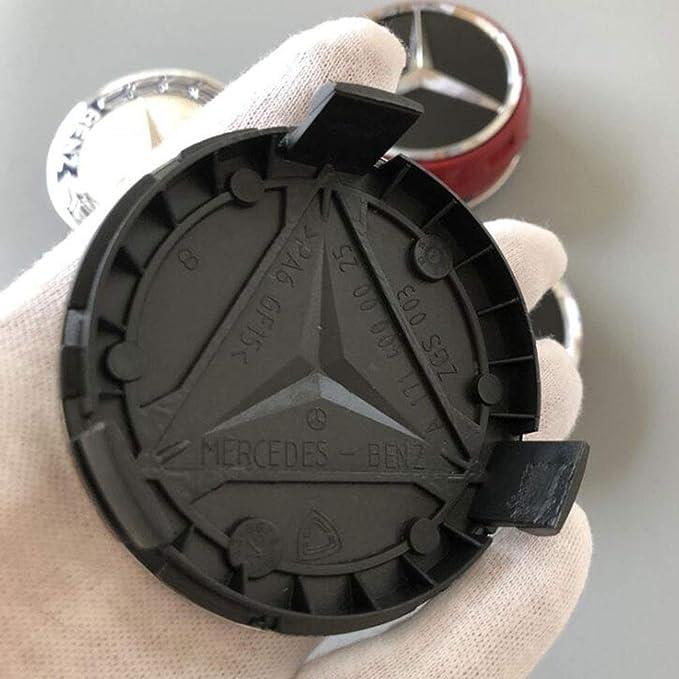 Fitracker-Satz von 4 Auto Rad Center Hub Cap Rim Center Caps Emblem blau 75mm 2.95