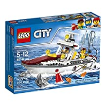 LEGO 6174474 City Great Vehicles Fishing Boat 60147 Building Kit