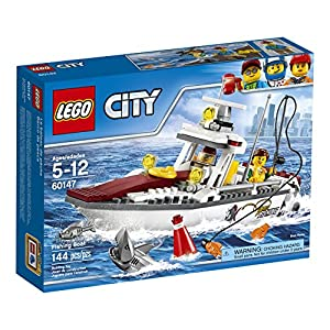 Lego City Boat