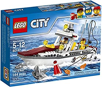LEGO City Fishing Boat Creative Play Toy