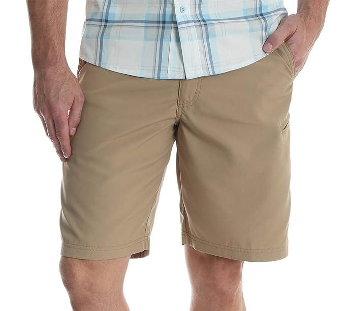 Wrangler Authentics Mens Side Elastic Utility Short