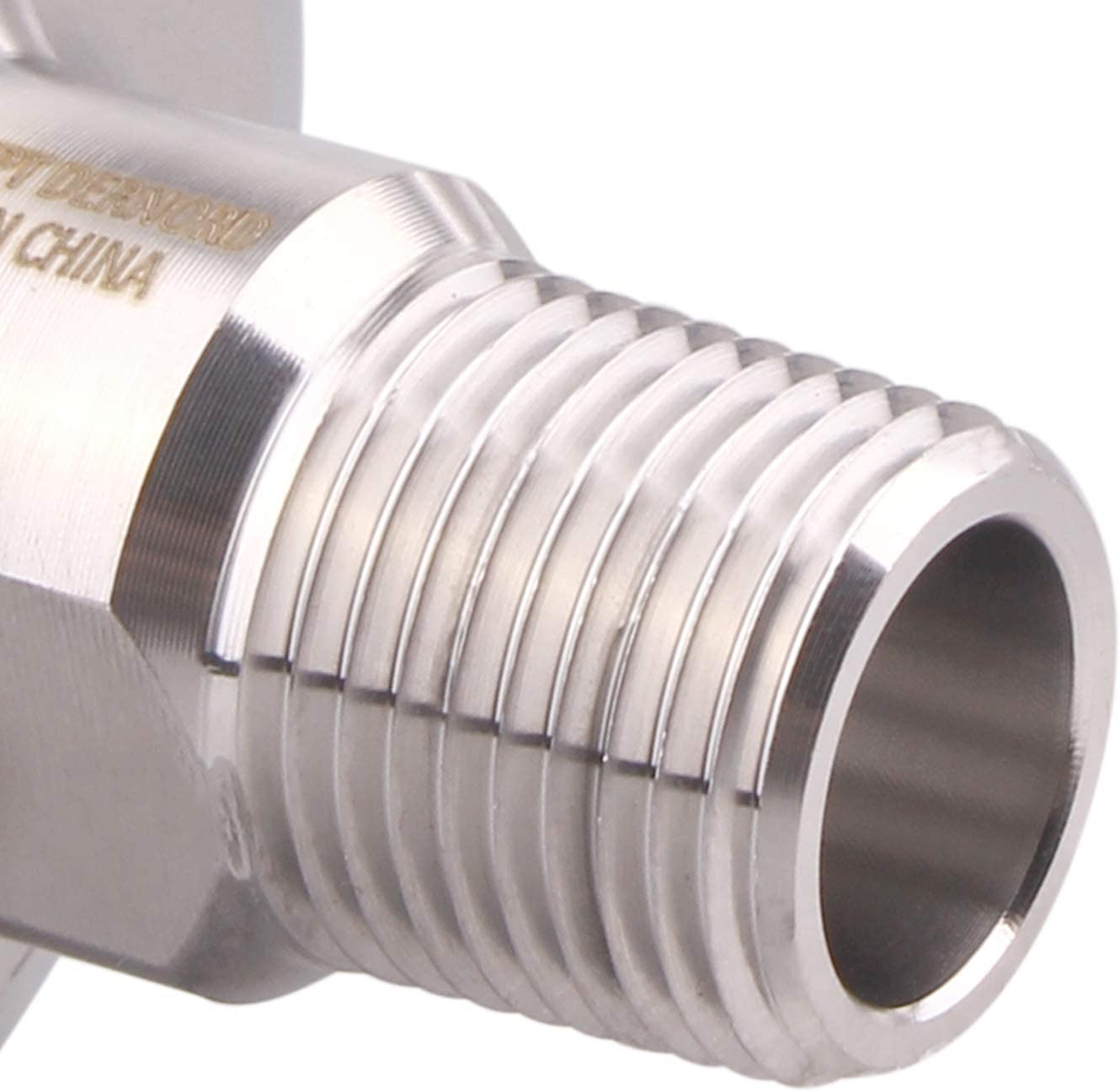 DERNORD 1.5 Inch Sanitary Tri Clamp to 1//2 Male Tri Clover