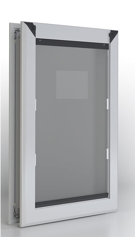 Extra Large Extra Large Aluminum Frame Dog Door Dual Flap