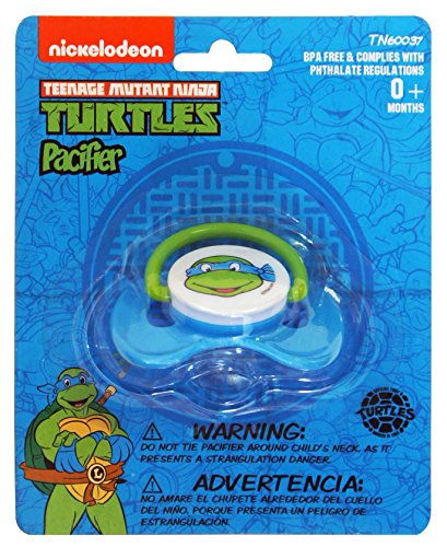 Nickelodeon Ninja Turtles Pacifier (Color or pattern may vary) -