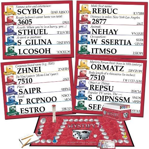 Mystify Word Scramble Board Game Buy Online In Oman Toy