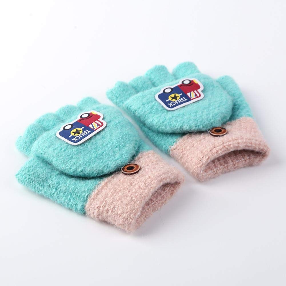 Domybestshop Newborn Baby Magic Stretch Mittens Winter Unisex Baby Gloves Mittens for Baby Kids Children Xmas Birthday Gift