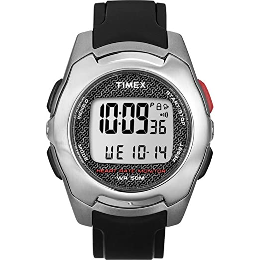 61fd2c6e65e3 GENUINE TIMEX Watch HRM HEALTH TOUCH Male - T5K470  Timex  Amazon.co.uk   Watches