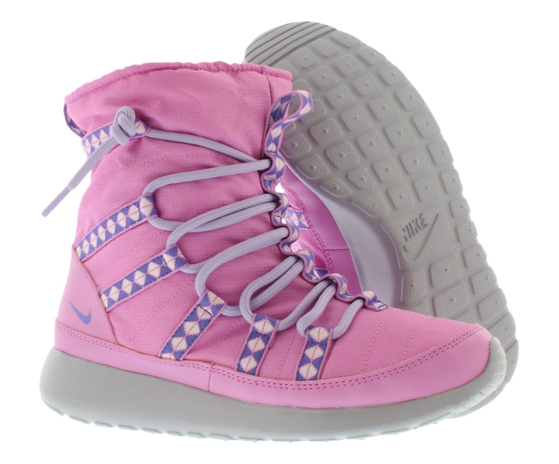 Nike Roshe Run Hi Sneakerboot GS Girls Boots Size 4.5 654492-500