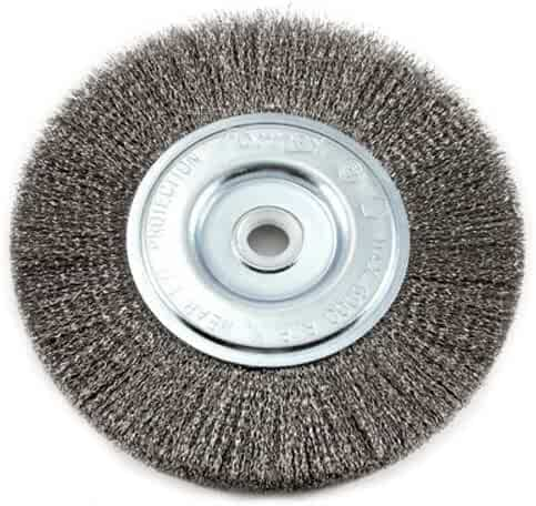 2-3//4-Inch-by-.014-Inch Coarse Crimped with 5//8-Inch-11 Threaded Arbor Forney 72755 Wire Cup Brush