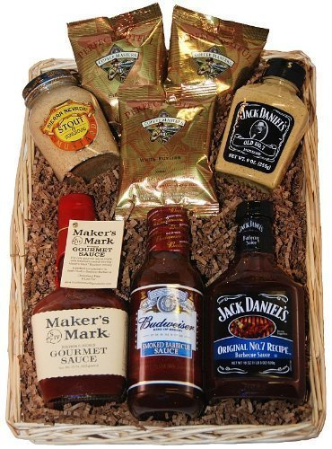 'Hit the Sauce' Gourmet Gift Basket for Thrilling (Barbecue Sauce Gift Basket)