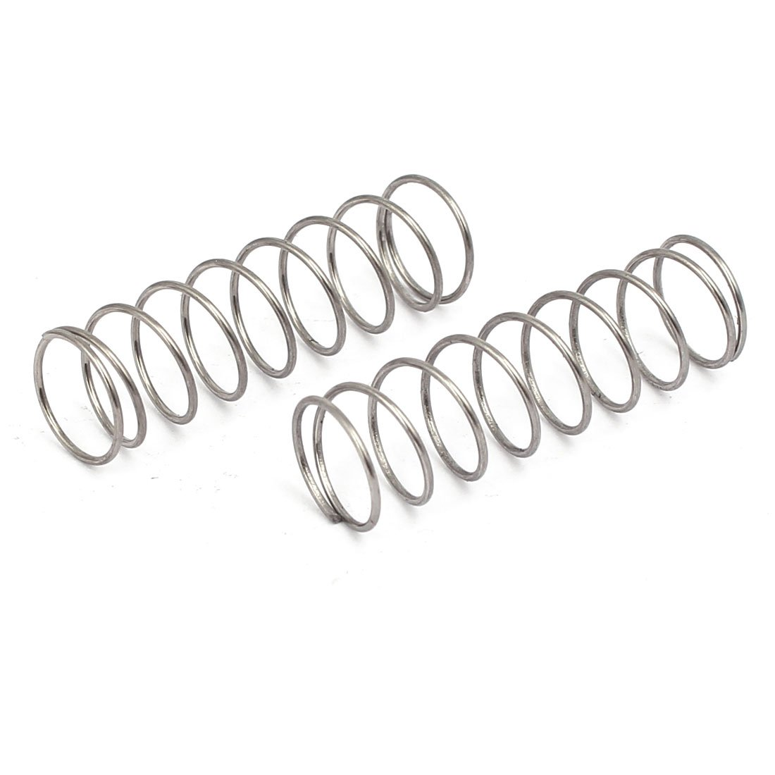 Aexit 0.6mmx9mmx30mm 304 Springs Stainless Steel Compression Springs Silver Compression Springs Tone 20pcs