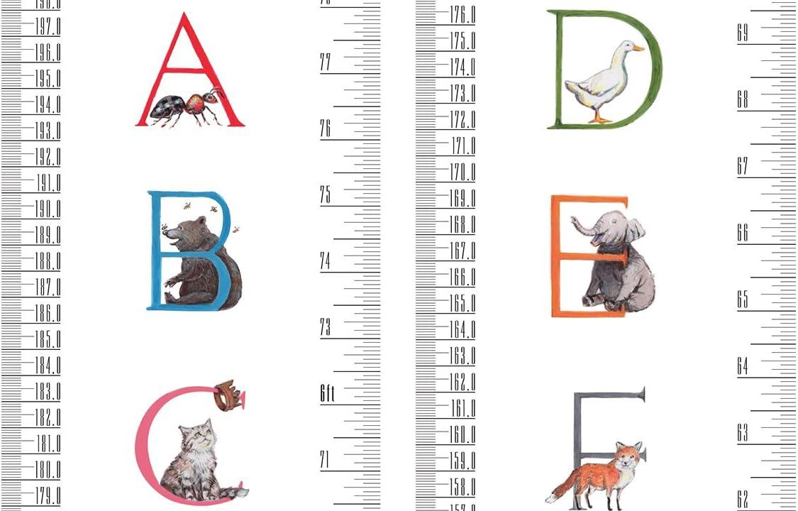 Pequeno Talltape, Alfabeto GRANDE Gr/áficos de crecimiento