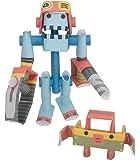 パイプロイド(PIPEROID) ジョー&ボクシー 2-in-1 紙工作 ロボット キット