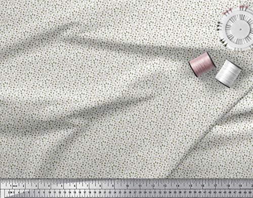 Soimoi Verde Jersey de algodon Tela ambulancias, equipos médicos y corazón tela de camisa tela artesanal impresa por metro 58 Pulgadas de ancho: Amazon.es: Hogar