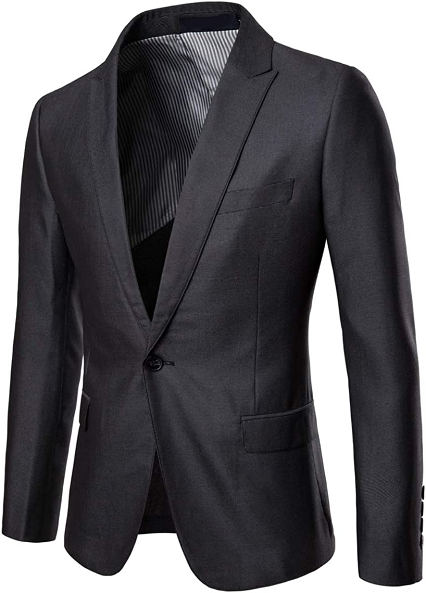 Slim Fit Men Suit Solid Black 2 Button Notch Lapel Flat Front Pants by Azar