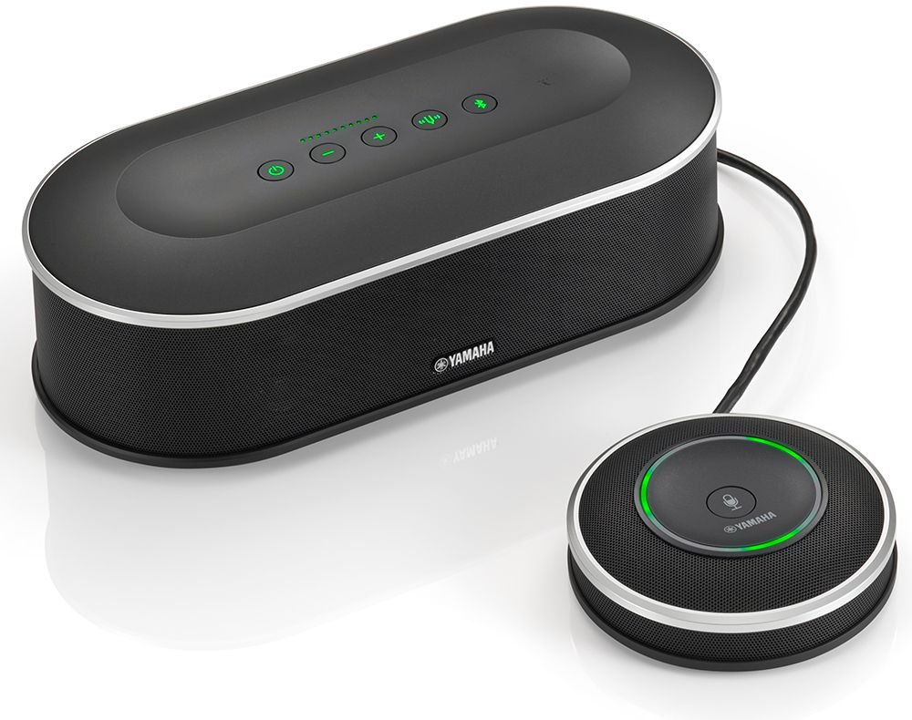 Yamaha YVC-1000 - Speaker phone - wireless - Bluetooth - NFC - Black