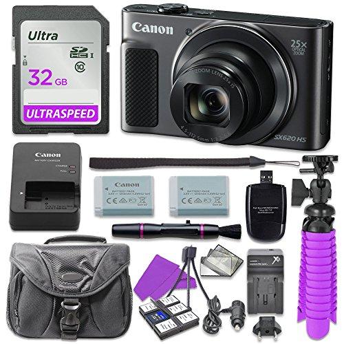 canon-powershot-sx620-hs-digital-camera-black-with-32gb-sd-memory-card-accessory-bundle