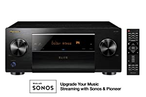 Pioneer Network AV Receiver Audio & Video Component Receiver, Black (SC-LX701)