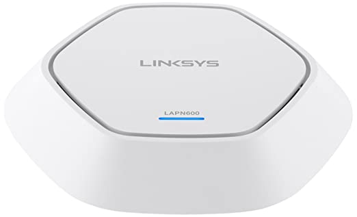 11 opinioni per Linksys LAPN600-EU Access Point Dual Band N600 2 x 2 per Aziende, Doppia Banda