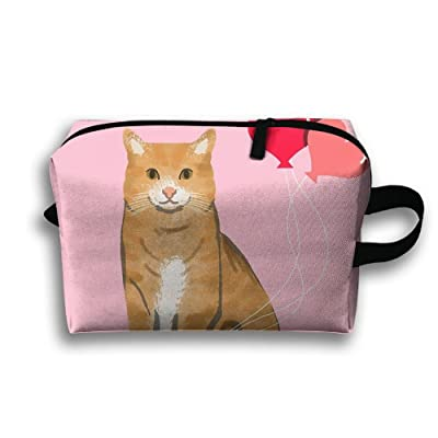 Cat Gift Multi-functional Tolietry Bag Portable Travel Storage Bag For Womens Girls