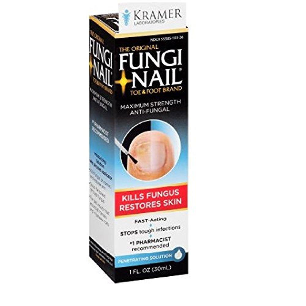 Fungi-Nail Toe & Foot Anti-Fungal Solution, 1 oz - Pack of 2