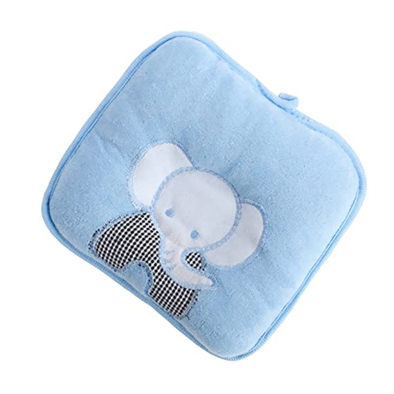 No original package bear Khaki Amazemarket Anti-flat Soft Newborn Baby Head Shaping Support Infant Protector Pillow Syndrome Stereotypes Memory Foam Sleeping Organic Breathable Hypoallergenic Cotton