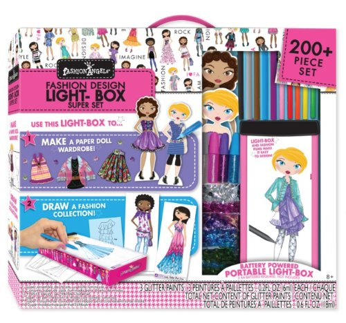 Travel Lightbox Fashion Design Super Set by Fashion Angels