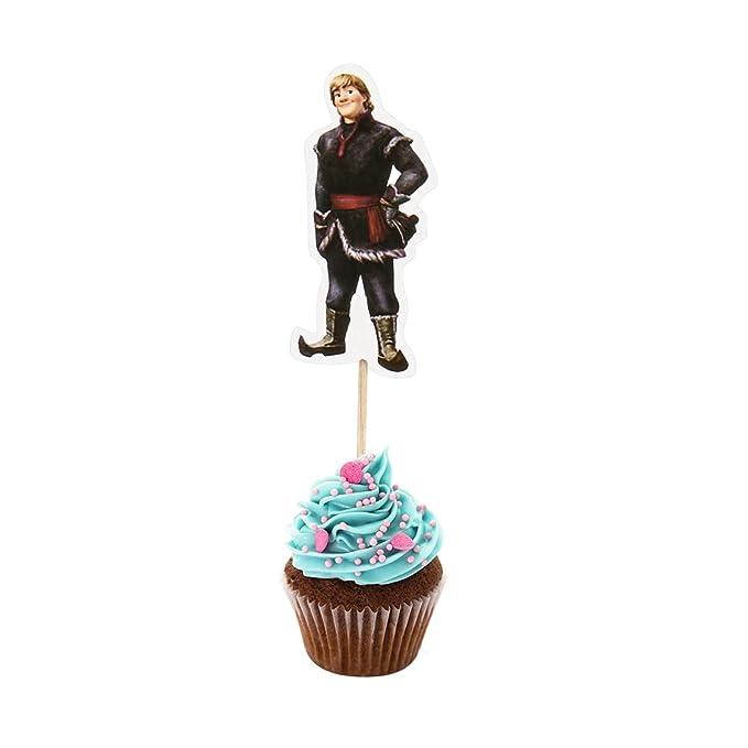 Marlon Nancy - Decoración para Cupcakes de Frozen para niños ...