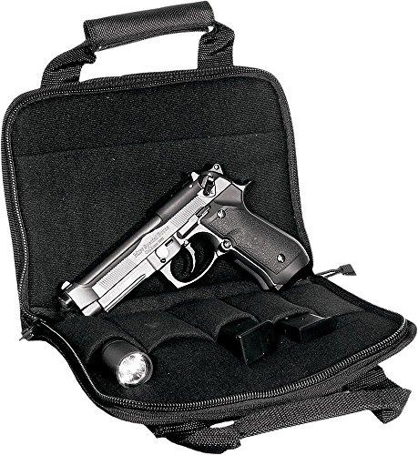 UTG Deluxe Single Pistol Case, Black